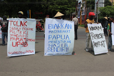 "Dukung ""Self Determination"", FRI West Papua Dideklarasikan di Jakarta"