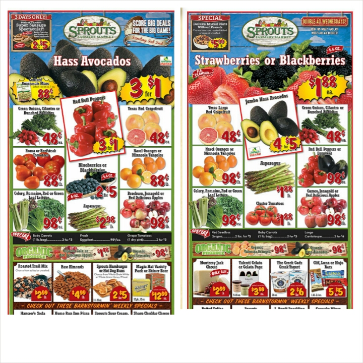 Melissa's Coupon Bargains: Sprouts Deals and Double Ad