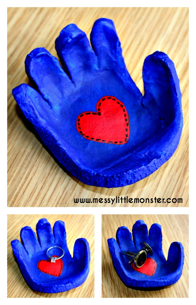 Salt Dough Handprint Bowl A Salt Dough Craft Idea