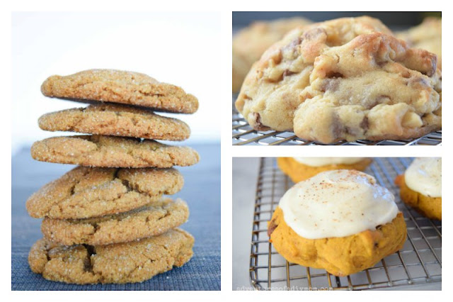 collage of different types of cookies