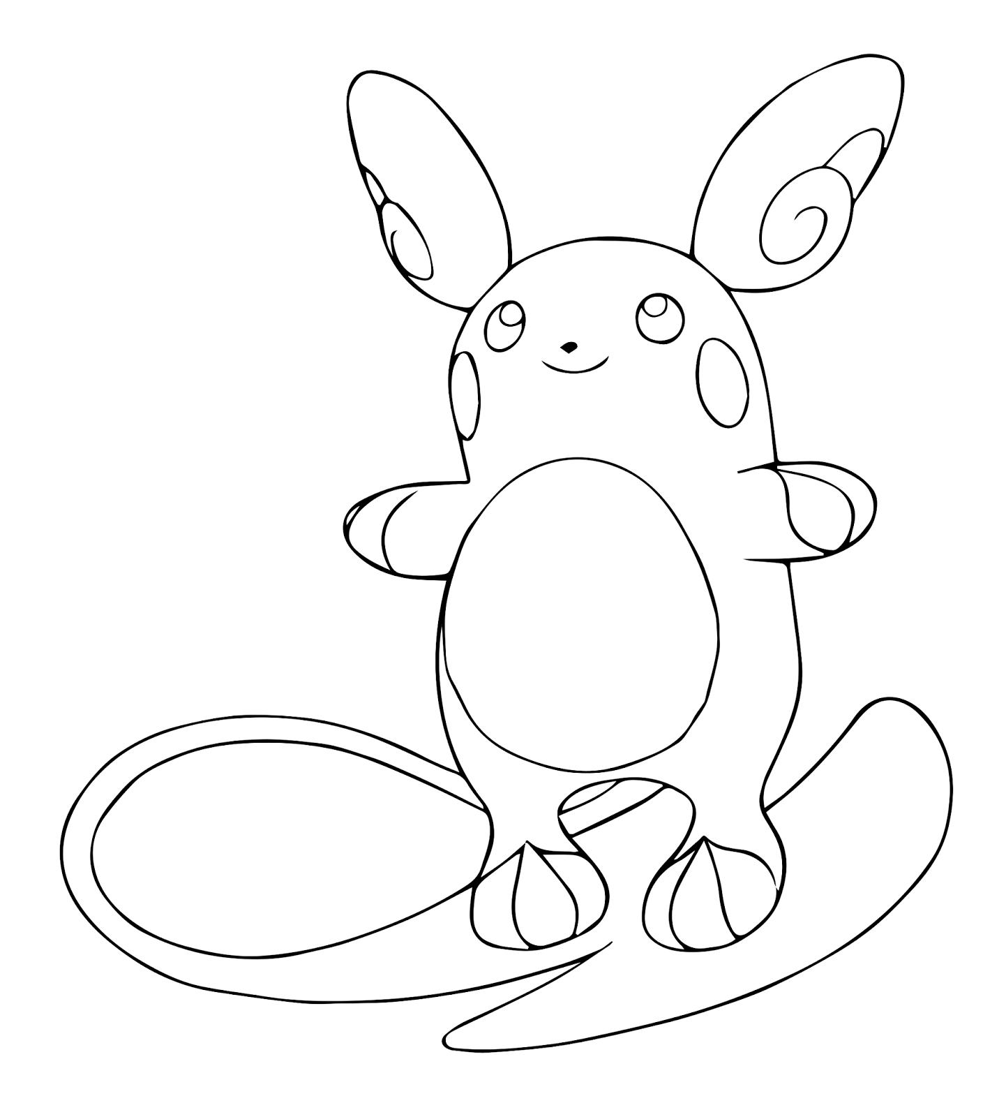 Alola Pokemon Coloring Page Pokemon Ausmalbilder Fur Kinder