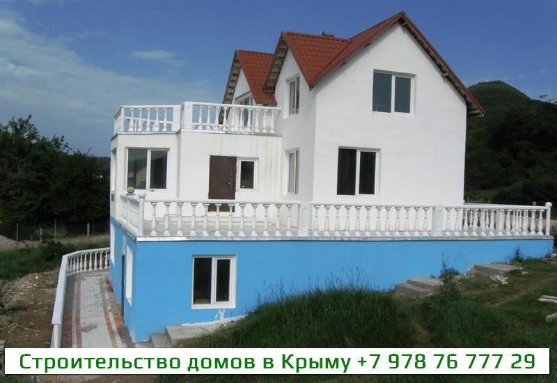 Строительство жилых домов в Крыму