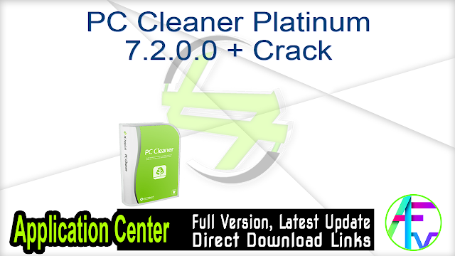 PC Cleaner Platinum 7.2.0.0 + Crack