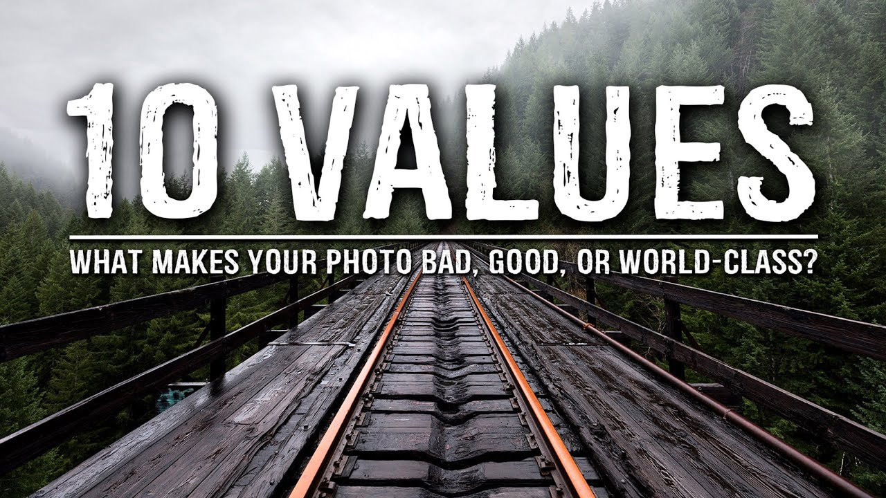Values are highly subjective and what you value might not be what other photographers value. That is what diversifies the landscape photography community and is something he highly values.