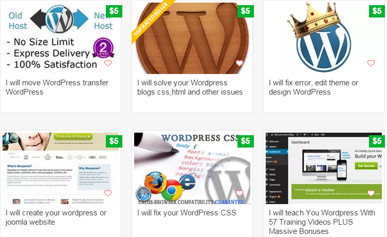 How To Make Money Online with Fiverr WordPress Gigs?