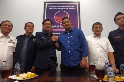 Masuk Radar Pilwalkot Medan, Menantu Presiden Jokowi Bertemu DPW NasDem Sumut