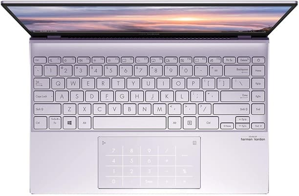 ASUS ZenBook 13 UX325JA-AB51 - 13.3 '' ultrabook with micro edge FHD display, Core i5 processor and integrated NumberPad