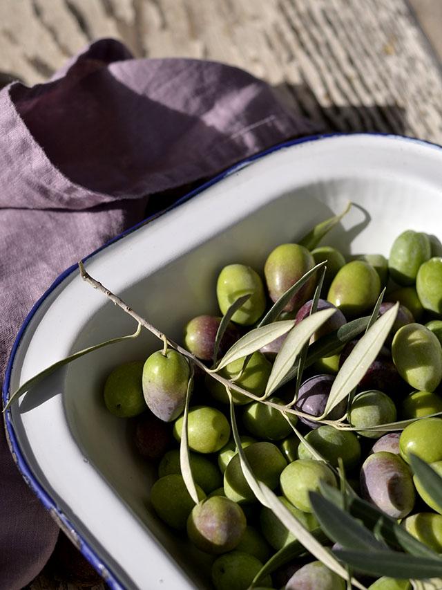 Como preparar las olivas verdes
