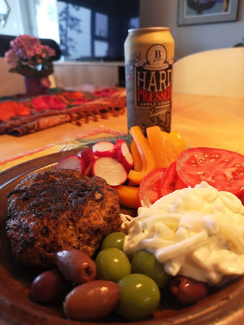 Pair this meal with a British Columbia Hard Pressed Cider