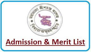 Maharaja Srischandra College Merit List