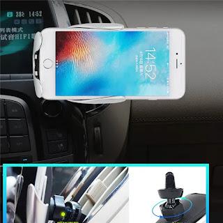 caricatore per auto wireless a morsetto automatico s5