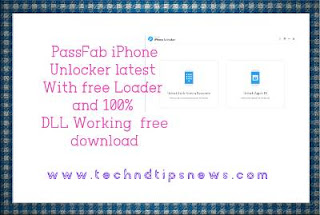 PassFab iPhone Unlocker setup latest With free Loader and 100% DLL Working  free download