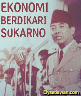 Politik Berdikari berdiri diatas kaki sendiri sukarno Bung Karno