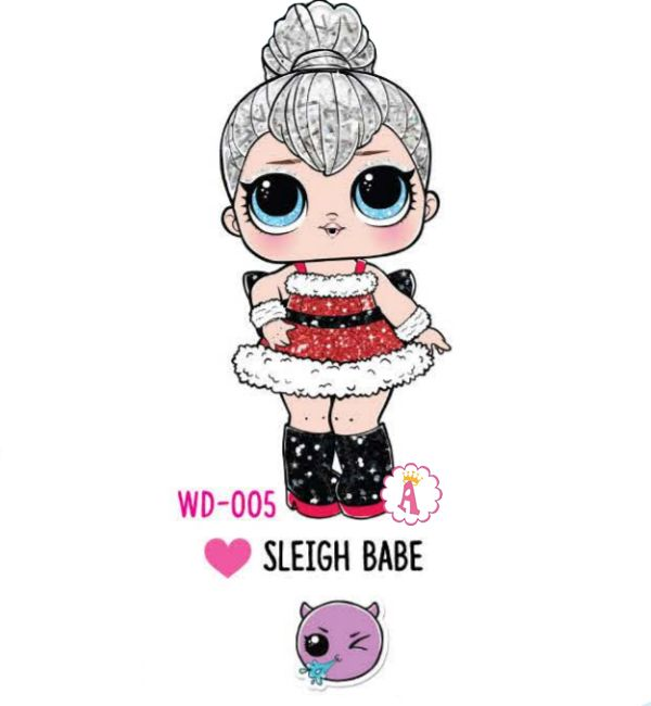 Sleigh Babe WD-005 снегурочка Лол Сюрприз Winter Disco