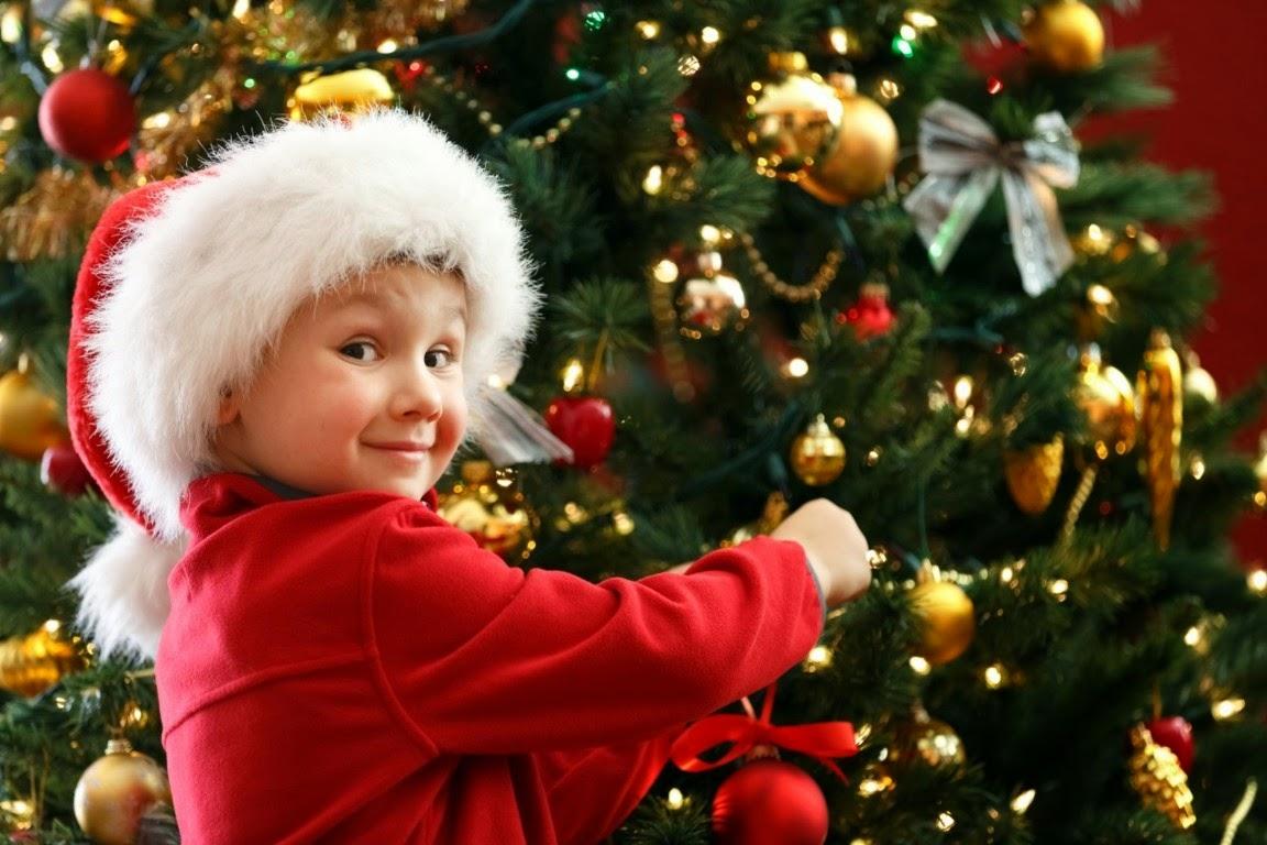 Gratis gambar bayi merayakan hari natal