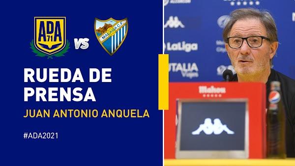 """Anquela - Alcorcón -: """"El Málaga me parece un buen equipo"""""""