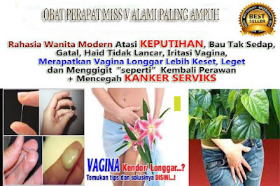 obat herbal vagina menghilangkan vagina becek secara alami