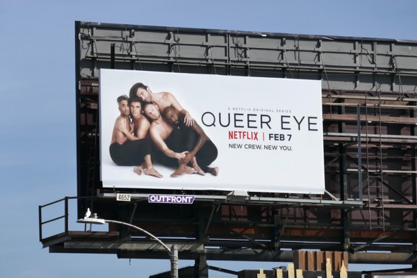 Queer Eye 2018 series billboard
