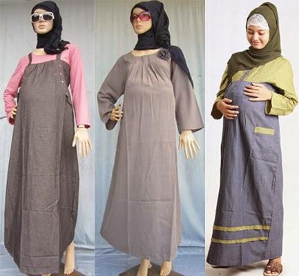 Model Baju Hamil Batik Muslim Terbaru 2018 Model Baju Baju Gamis
