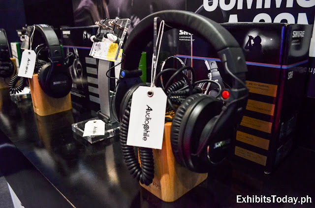 Shure headphones at WOCEE 2019