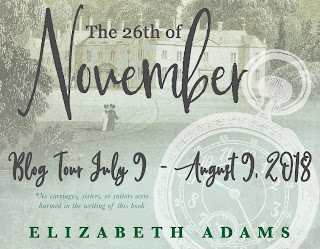 Blog Tour: The 25th of November by Elizabeth Adams