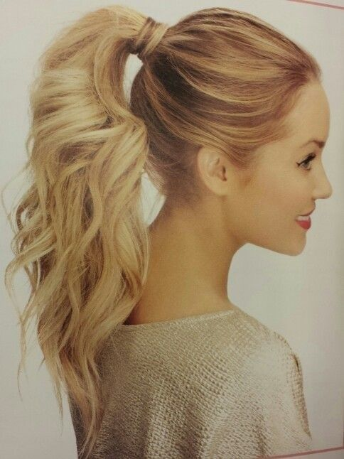 10 Cute Ponytail Ideas: Fall Hairstyles for Long Hair