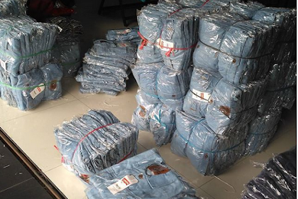 Jual Jaket Jeans Levis Murah / Baru Kualitas Oke / Biru Muda, Biru Tua