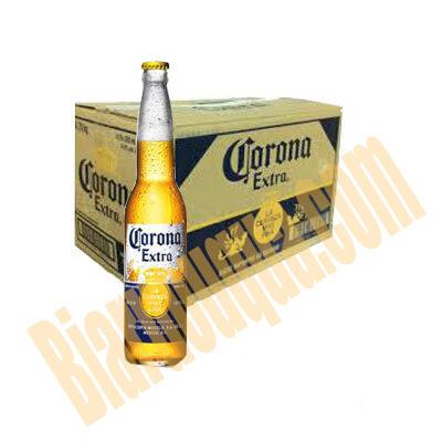 Thùng bia chai Corona Extra Mexico