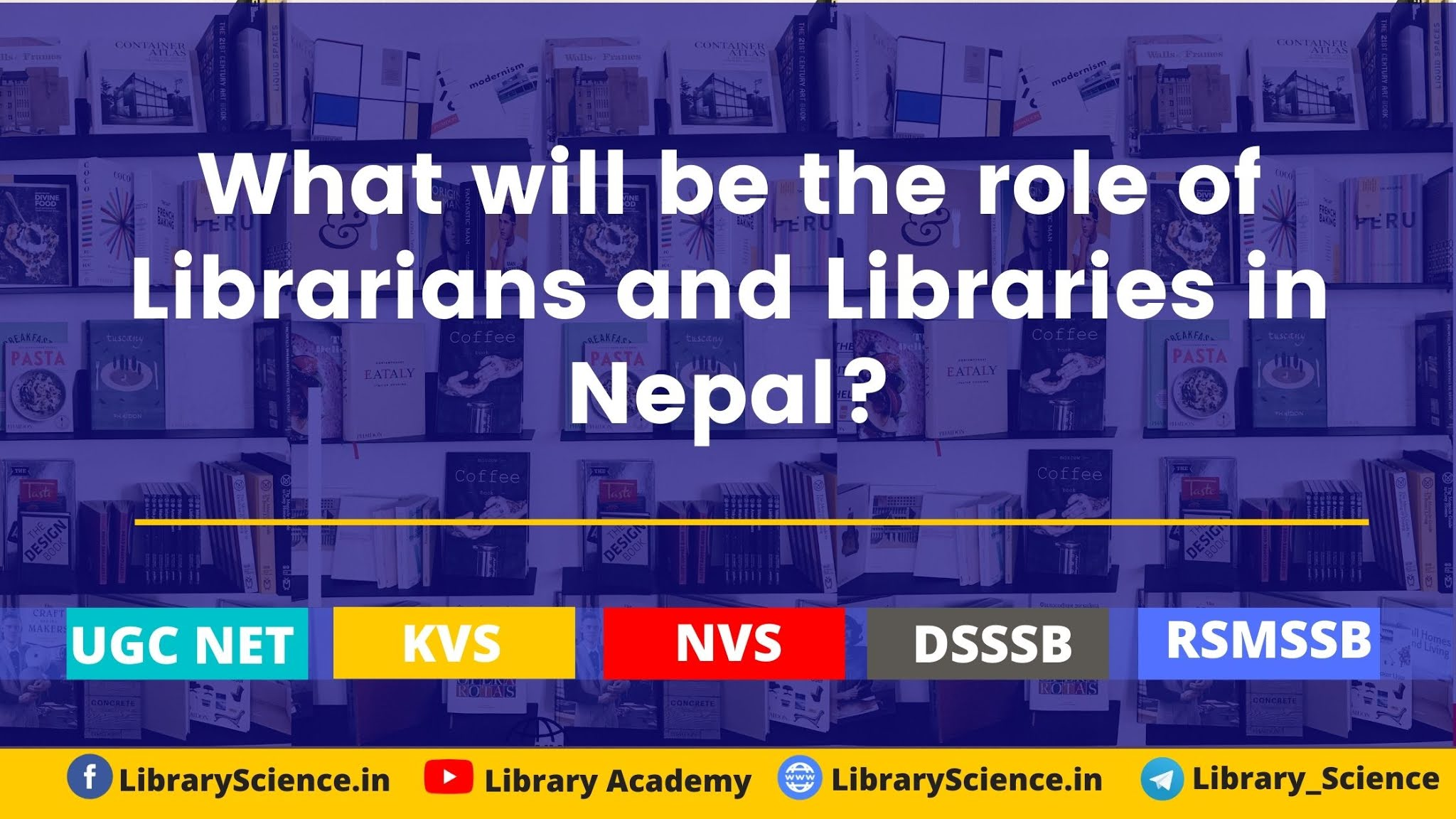 What will be the role of Librarians and Libraries in Nepal