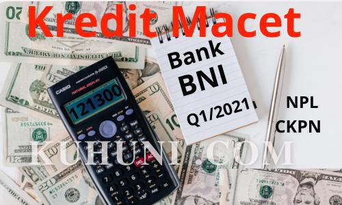 NPL Bank BNI Kuartal 1 2021