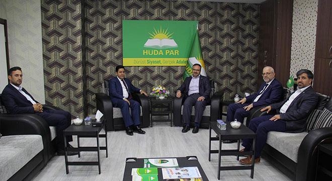 Saadet Partisi HÜDA PAR'dan cumhurbaşkanı adayları için destek istedi