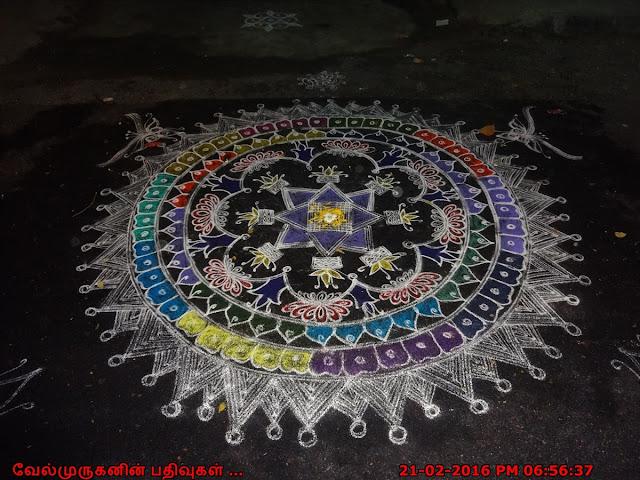 Chennai Adyar Rangoli