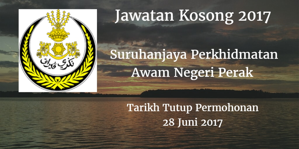 Jawatan Kosong SPA Perak 28 Juni 2017