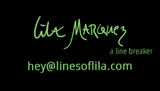 Contact Lines of Lila