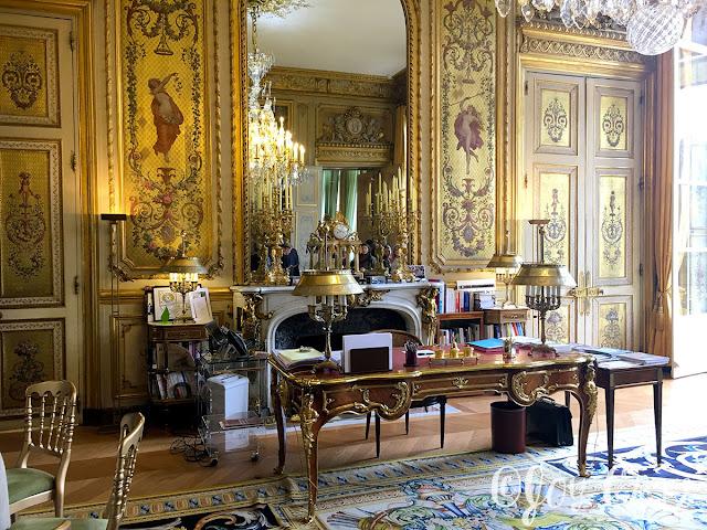 Bureau du Président, Palais de l'Elysée, Paris