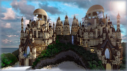 Minecraft : Tropical Sandstone Castle
