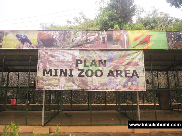 Plan Mini Zoo Arean Santasea Waterpark Sukabumi