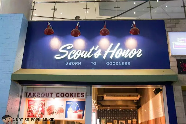 Scout's Honor in Robinsons Place Manila