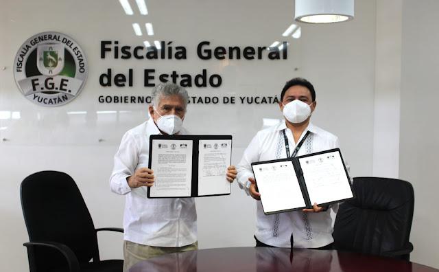 Firman Convenio de profesionalización en el sistema penal de adolescentes