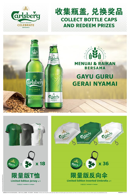 CARLSBERG CELEBRATES THE FESTIVAL OF ABUNDANCE  WITH LIMITED-EDITION HARVEST CANS