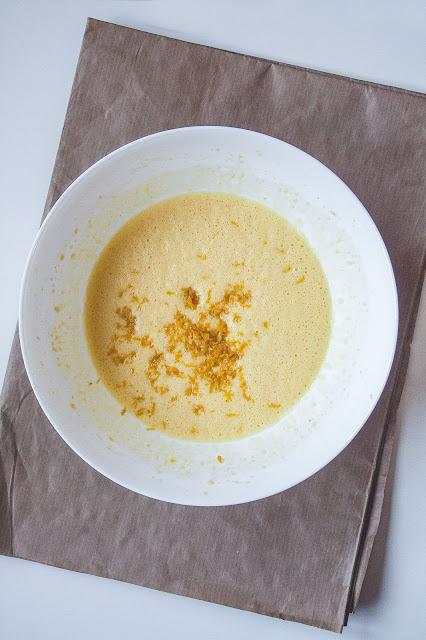 Plumcake ai mandarini step 2