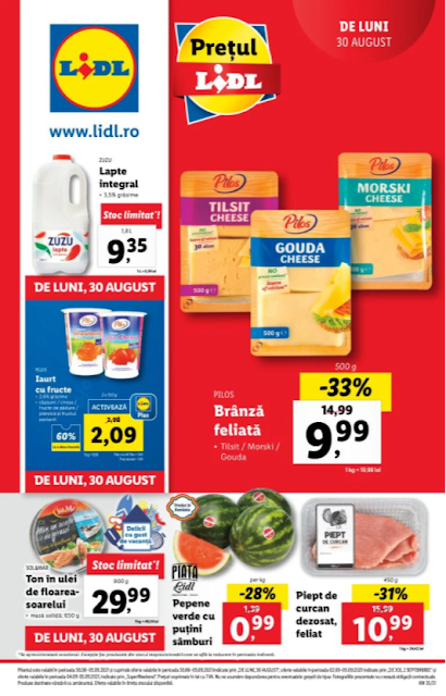 LIDL catalog brosura  30.08 - 05.09 2021