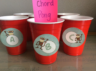 Chord Pong Music Carnival Game