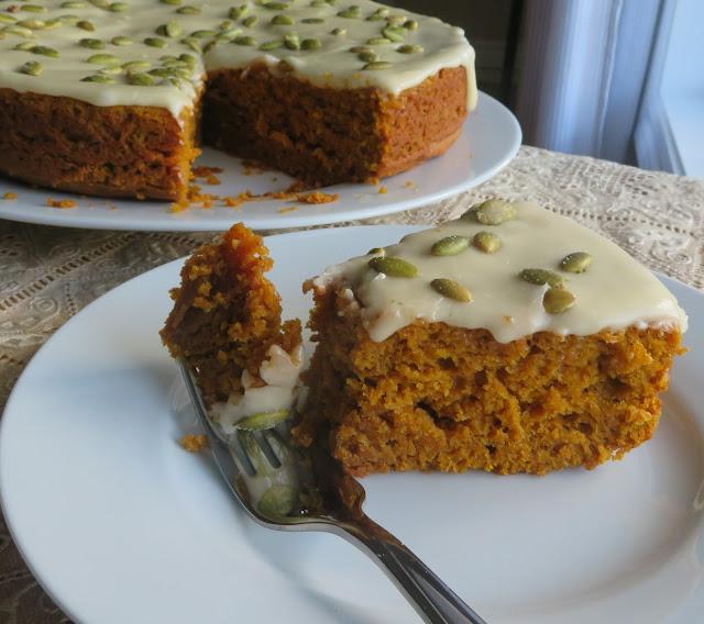 Pumpkin Olive Oil Cake