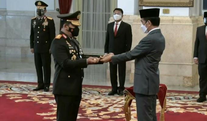 Presiden Jokowi Resmi Lantik Listyo Sigit Prabowo Menjadi Kapolri
