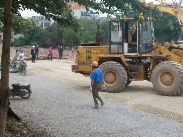 Tiến độ dự án đường vành đai 2,5 qua Định Công
