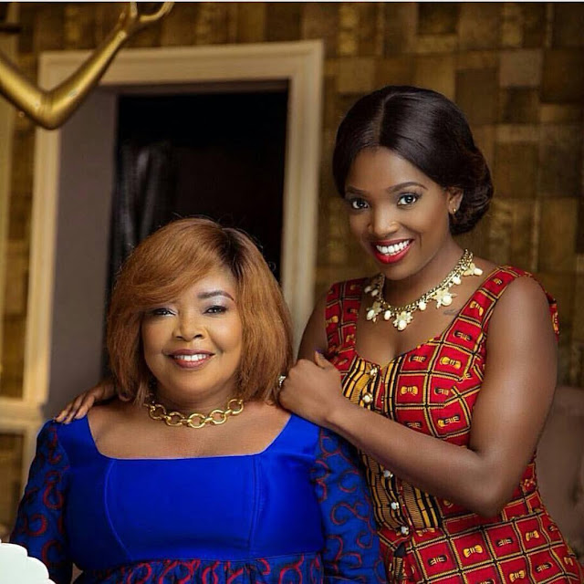 Special Motherhood Edition: Annie Idibia And Her Mum Grace Essien, Cover Impelling Africa Magazine