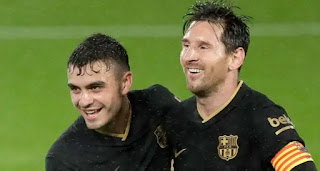 Barcelona midfielder Pedri opens up on what advice Leo Messi gives him
