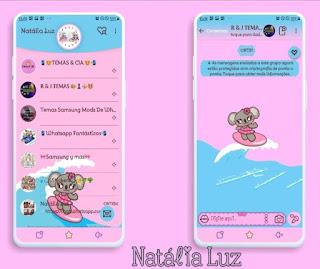 Koelin Surfing Theme For YOWhatsApp & Fouad WhatsApp By Natalia Luz