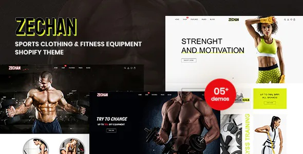 Best Sports Clothing and Fitness Equipment Shopify Theme